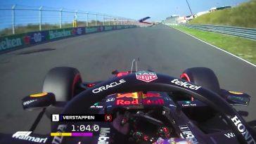 Max Verstappen's Pole Lap op Circuit Zandvoort