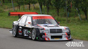Mercedes 190 Judd V8 in Oberhallau Hillclimb