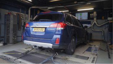 Op de Rollenbank - Subaru Outback 3.6 R