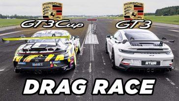 Porsche 992 GT3 vs Porsche GT3 Cup