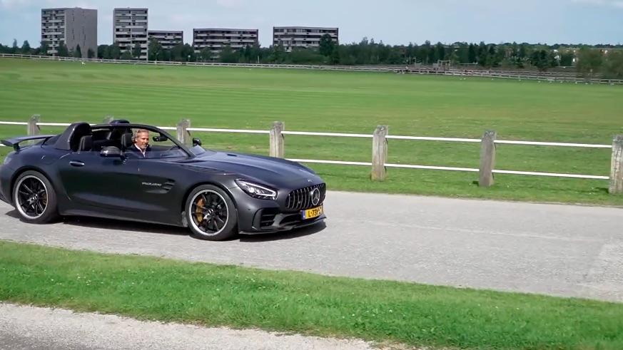 Rijtest van de Mercedes-AMG GT R Speedlegend