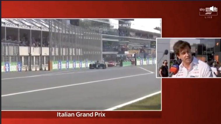 Toto Wolff reageert op de crash Hamilton - Verstappen