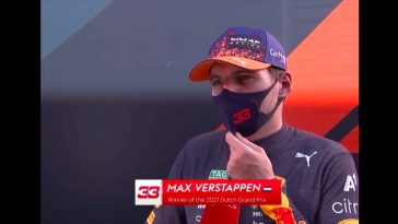 Verstappen reageert bij Sky Sports op prachtige zege in Dutch Grand Prix