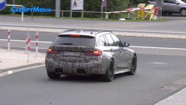BMW M3 Touring toert door de straten van Nürburg