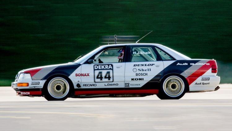 Block mag ook proeven aan de Audi V8 Quattro DTM
