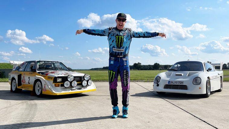 Ken Block stapt achter het stuur van Audi Group B en Group S