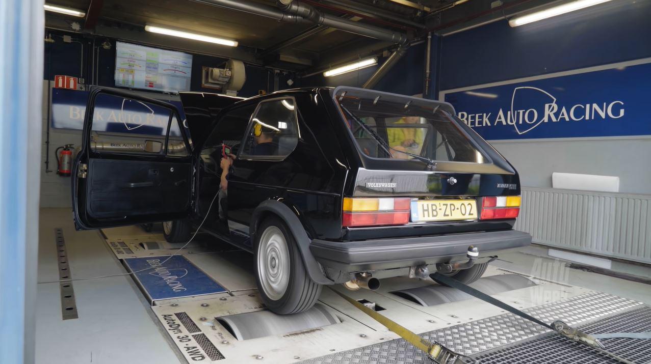Op de Rollenbank - Volkswagen Golf GTI Mk1