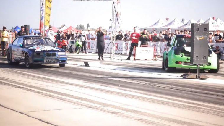 Volkswagen Lupo heeft slechte start bij dragrace